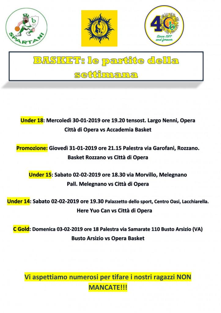 Volantino gare Basket 14-1