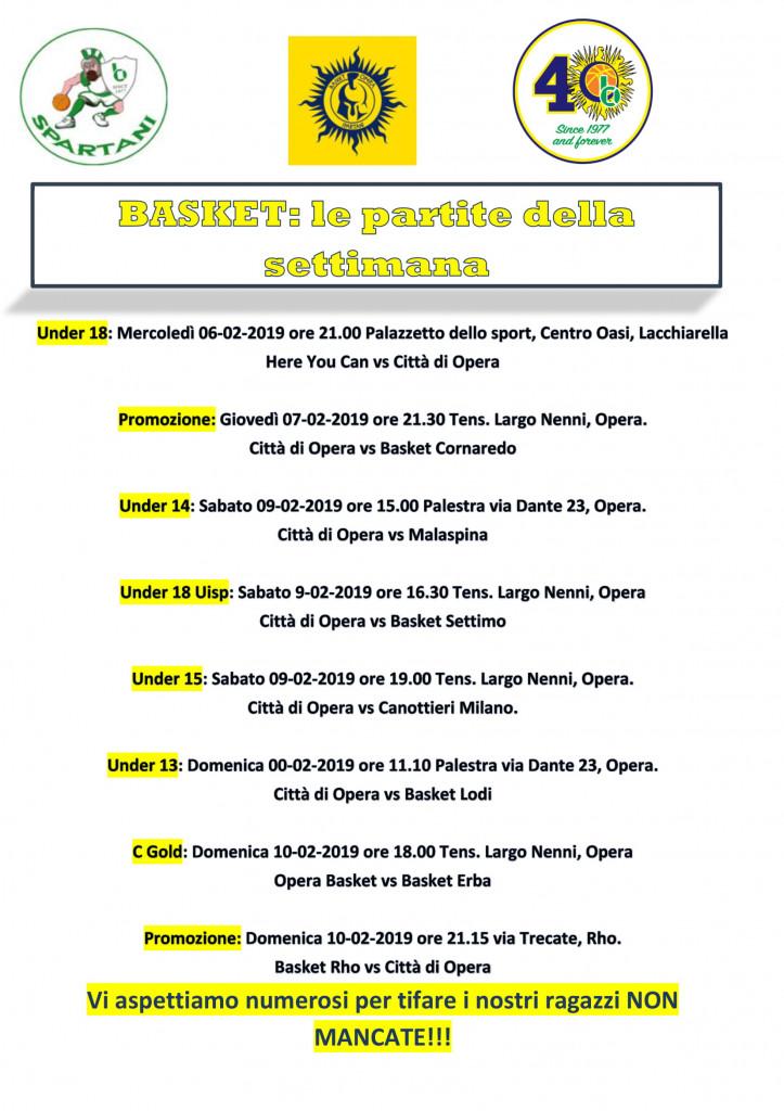 Volantino gare Basket 15-1