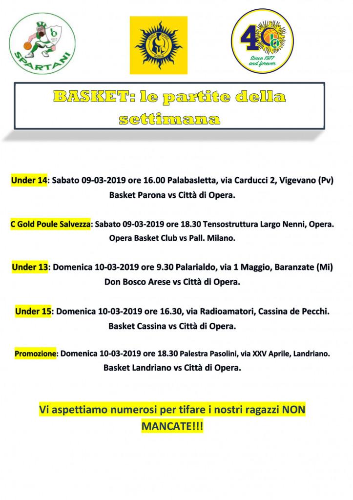 Volantino gare Basket 19-1