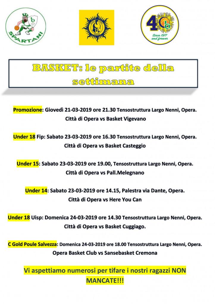 Volantino gare Basket 21-1