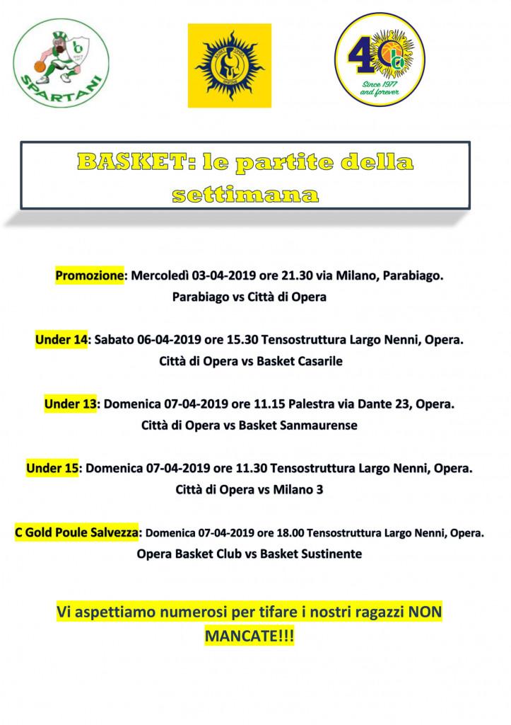 Volantino gare Basket 23-1